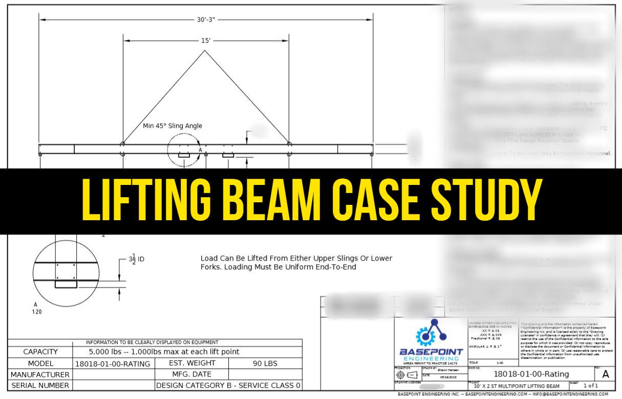 Lifting Beam Case Study 1 Basepoint Engineering